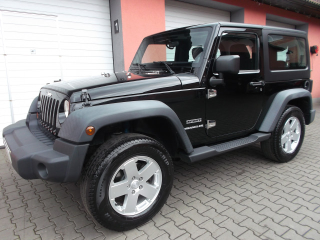 Jeep Wrangler Sport JK 4x4-2.8 CRD 147kW Hardtop+Softtop